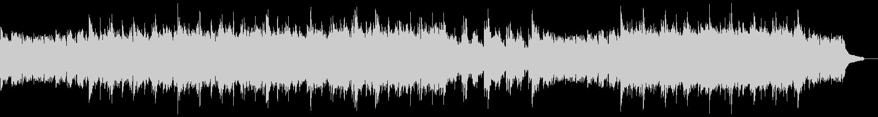 雄大なピアノアルペジオ:打楽器抜きの未再生の波形