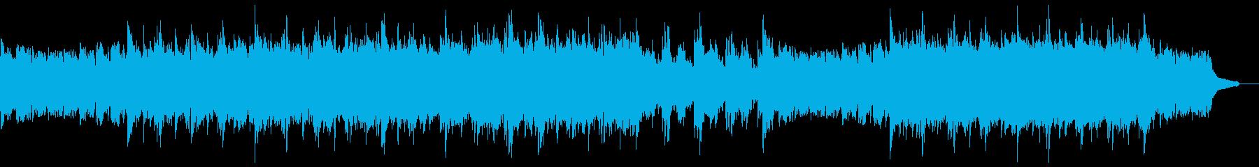 雄大なピアノアルペジオ:打楽器抜きの再生済みの波形