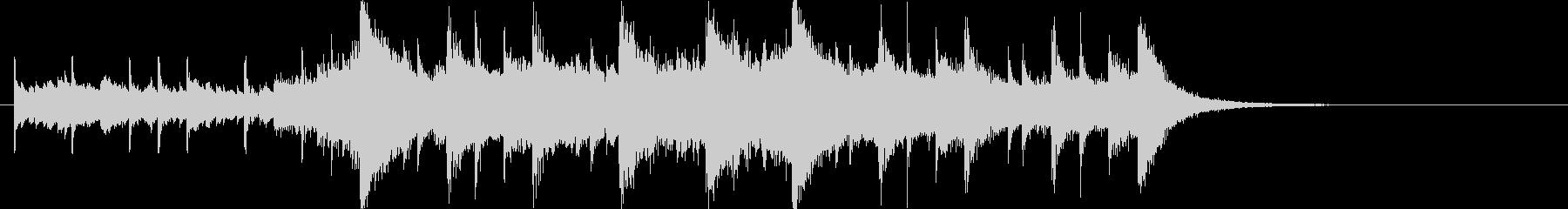 幻想的で壮大なオーケストラOPジングルcの未再生の波形