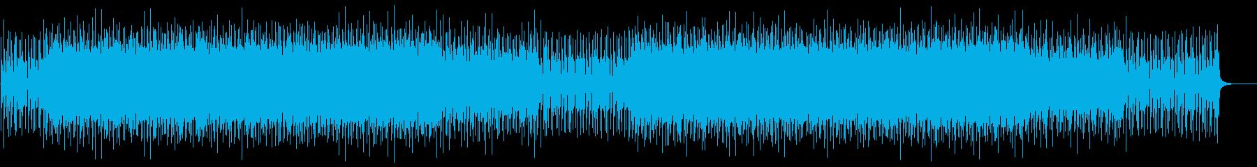 CMに 透明感ある爽やかなポップロックの再生済みの波形