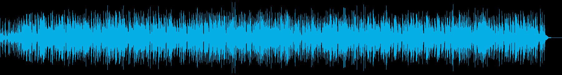 トランペットが奏でるジャズの再生済みの波形