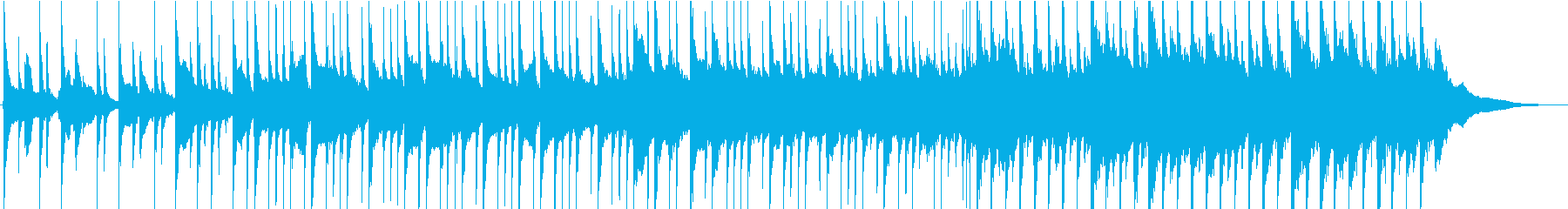 淡々と切ない・失恋・ギター・ピアノの再生済みの波形