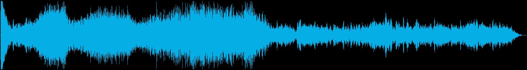 イメージ 低攻撃02の再生済みの波形