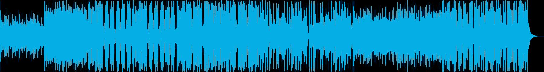 おしゃれなフューチャーベース EDMの再生済みの波形