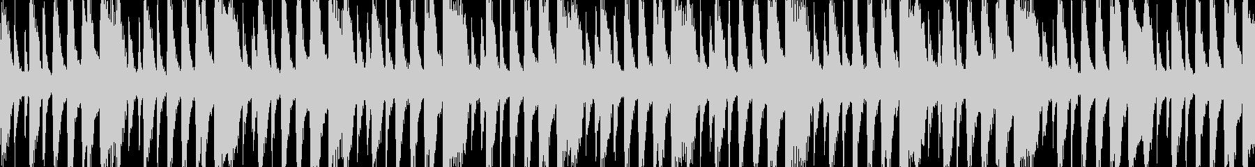 ノリがいい楽しいアコースティックループ版の未再生の波形