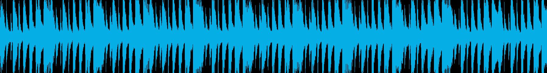 ノリがいい楽しいアコースティックループ版の再生済みの波形