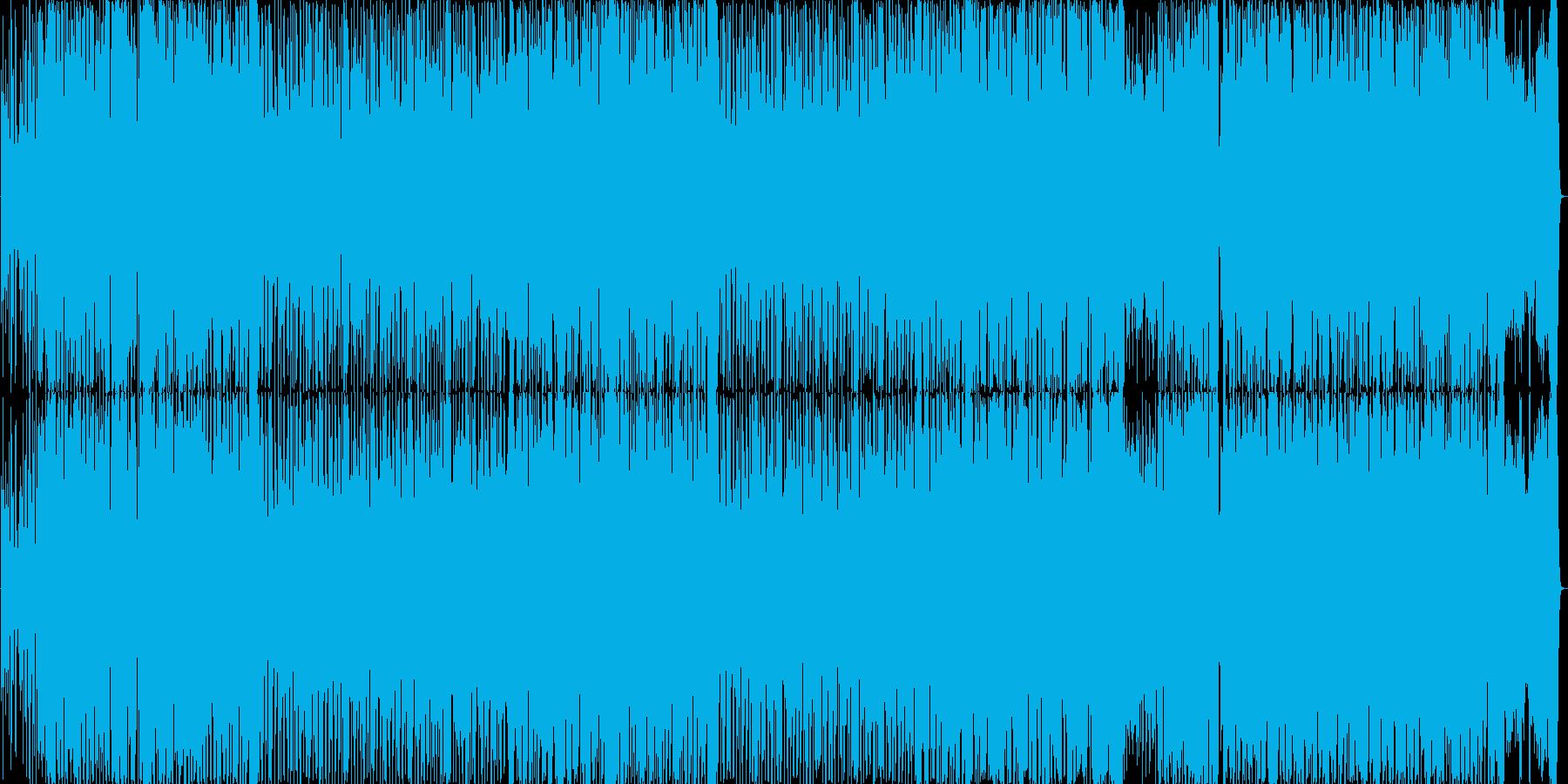 ジャニーズ系ポップ風のノリノリのBGMの再生済みの波形