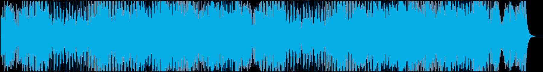 ムーディな色気あるBGMの再生済みの波形