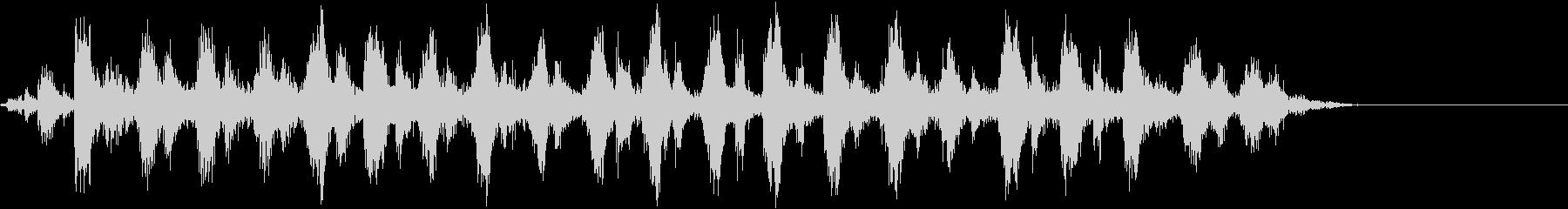 音響ギター:のこぎりの鳴き声、漫画...の未再生の波形