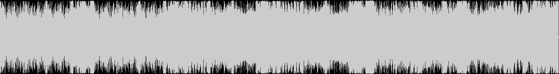 明るく軽快で豪快なオーケストラル ループの未再生の波形