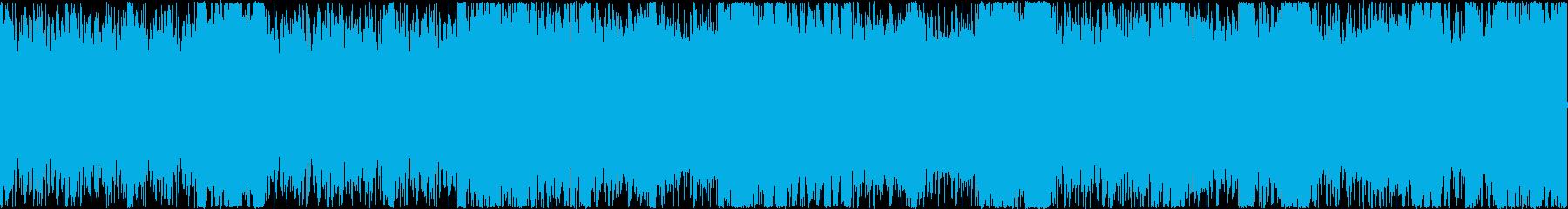 明るく軽快で豪快なオーケストラル ループの再生済みの波形
