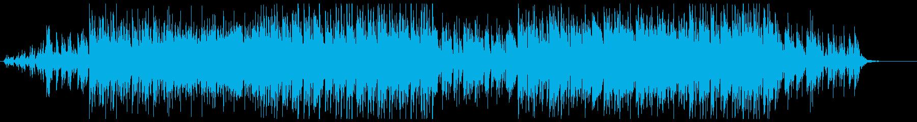 時間の流れを表現した綺麗で不思議な曲の再生済みの波形