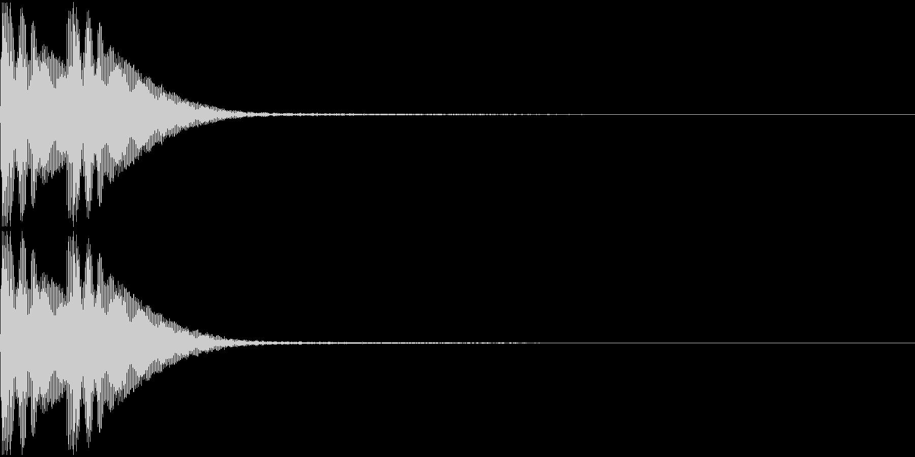 ででん(和風アイキャッチ)A06の未再生の波形