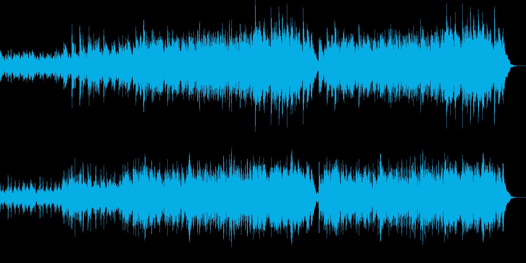 明るく爽やかなオーケストラポップ-13の再生済みの波形