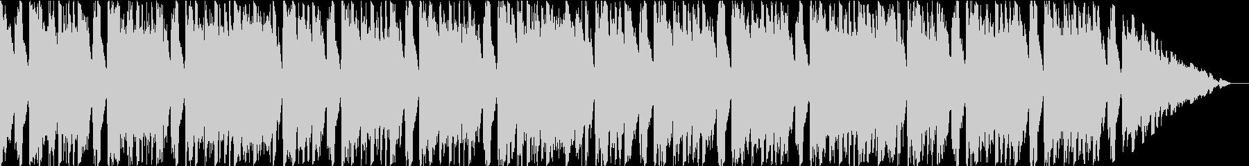 ピアノとストリングス主体の爽やかポップスの未再生の波形