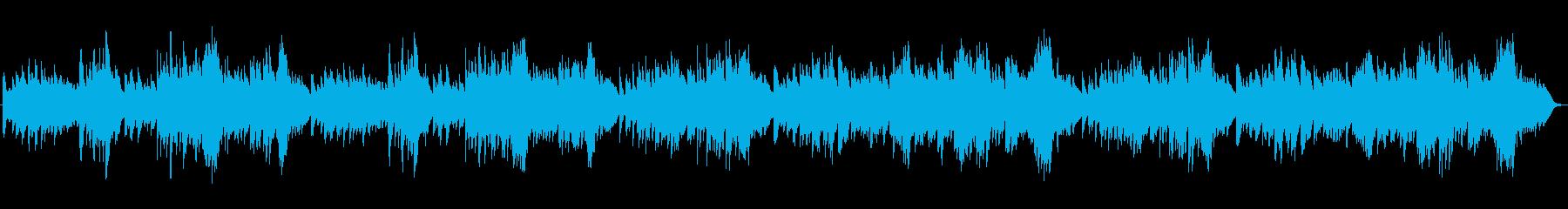 ゆったりとしたピアノ曲。優雅なひとときにの再生済みの波形