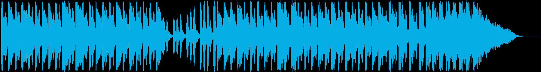 メルヘンで元気が出る軽快なシンセサイザーの再生済みの波形
