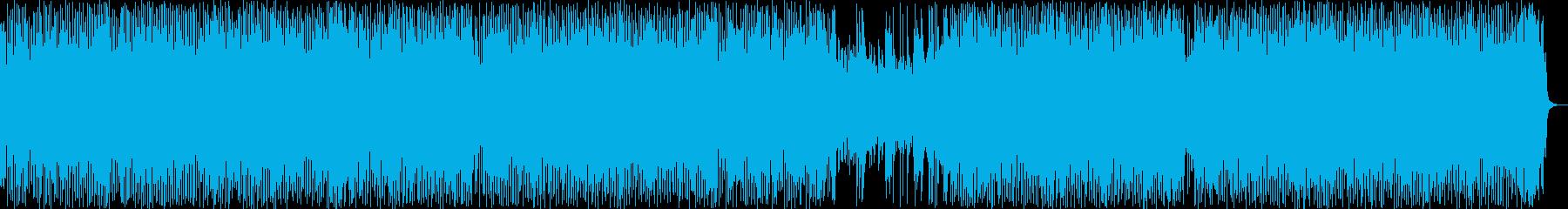 アクションRPGの草原BGMの再生済みの波形