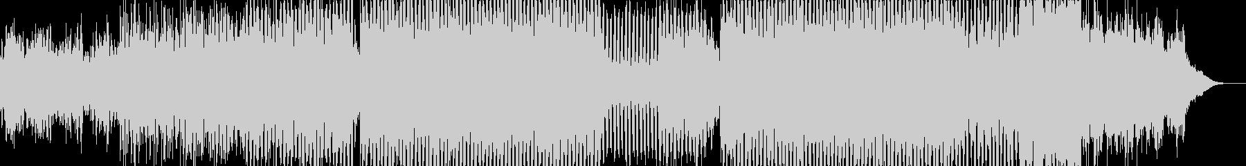 ハッピー・ピアノ・ハウスの未再生の波形