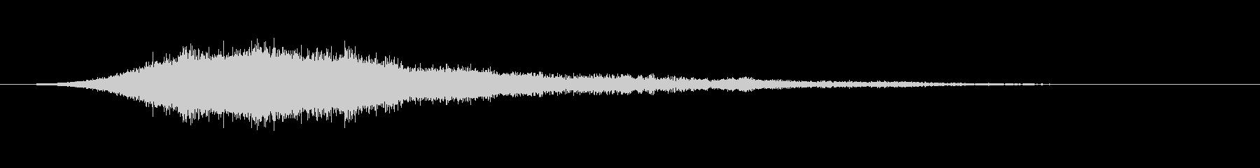 トリプルチャイムでシューシュードロ...の未再生の波形