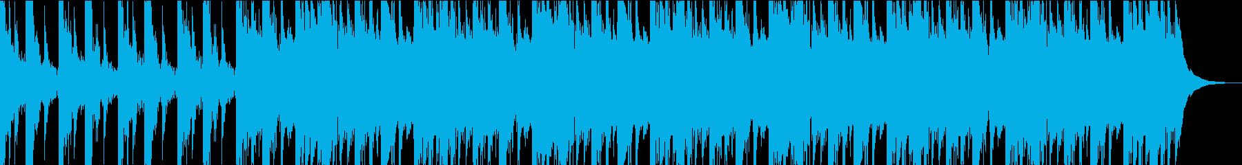 シリアスシーンのBGMの再生済みの波形