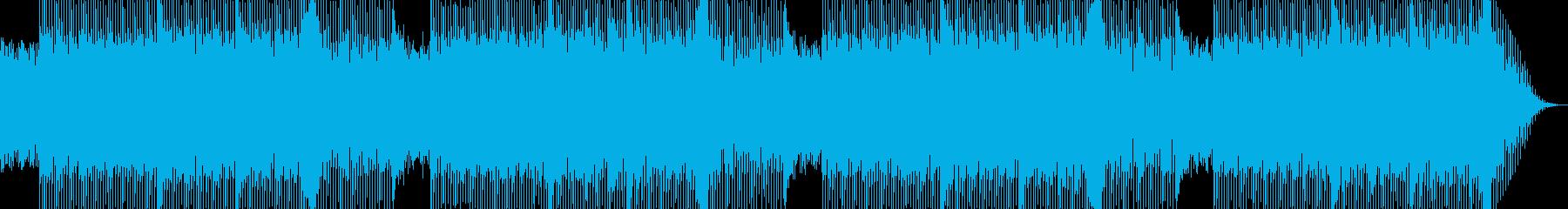 緊張感のある エレクトロ Epic調の再生済みの波形