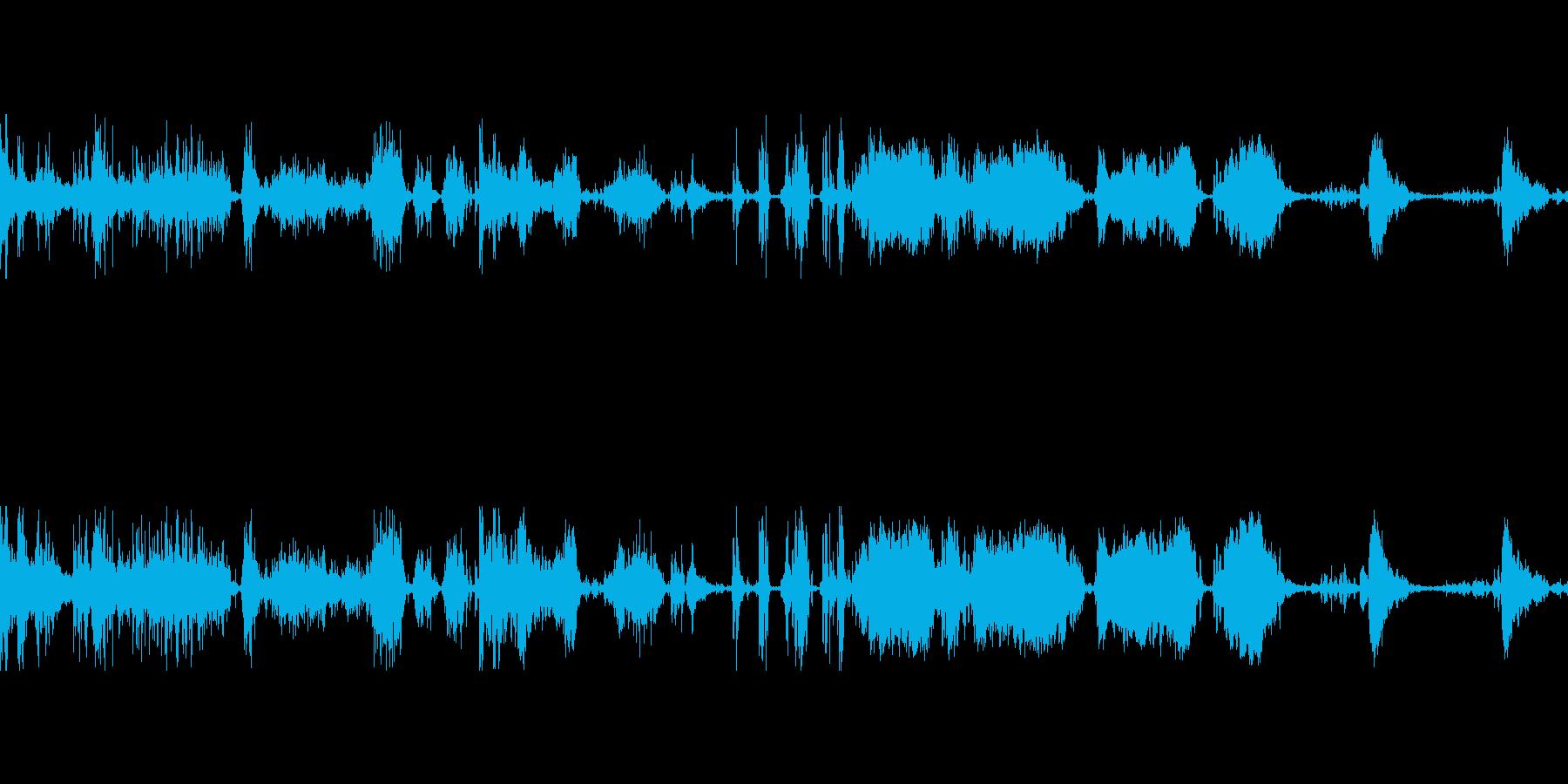 ショッピングカートローリングメタルラットの再生済みの波形