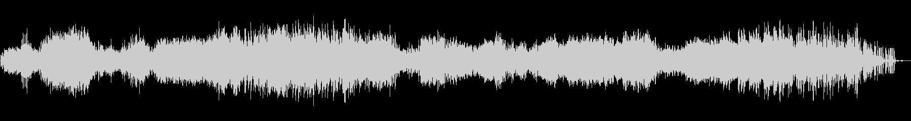 リラクゼーションノイズミュージックの未再生の波形