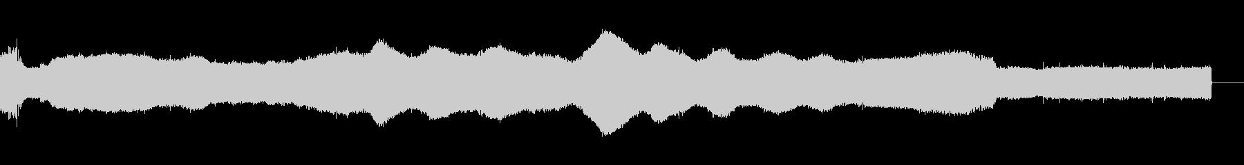 コンピューターインテリアAの未再生の波形
