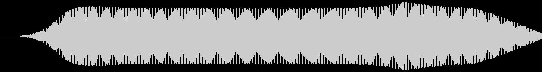 リモコン(スイッチボタン 電子音)ピッ②の未再生の波形