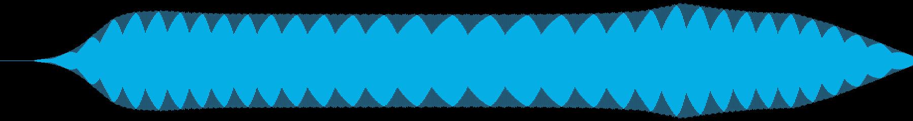 リモコン(スイッチボタン 電子音)ピッ②の再生済みの波形
