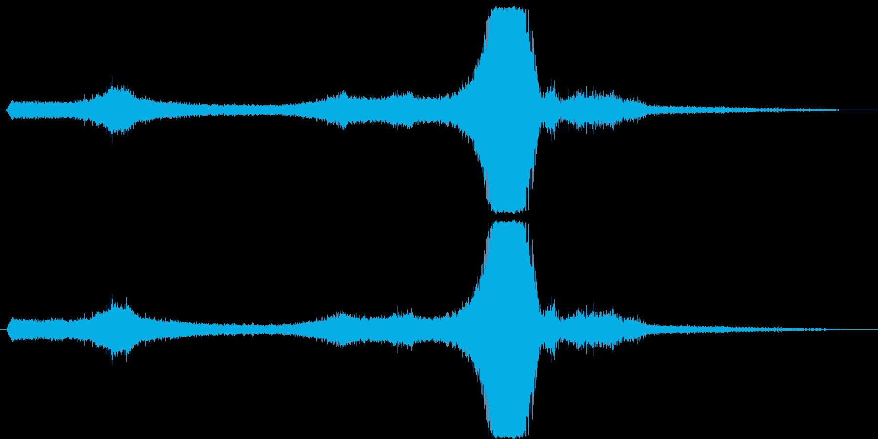 ハリアー:離陸垂直;離陸のパチパチ...の再生済みの波形
