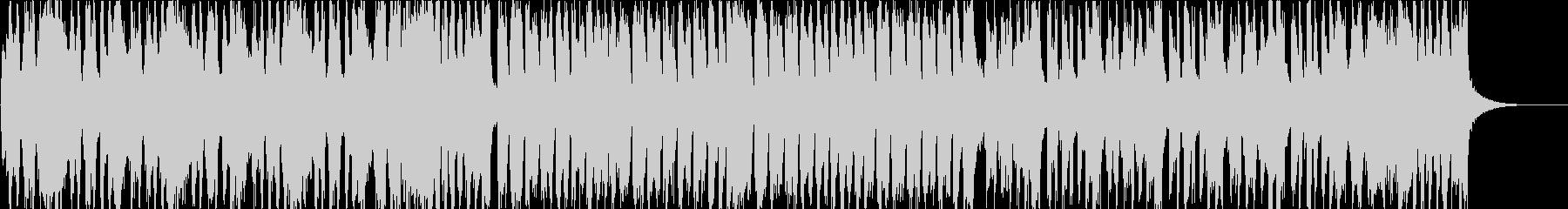 バイオリンで明るく軽快なマーチ風BGMの未再生の波形