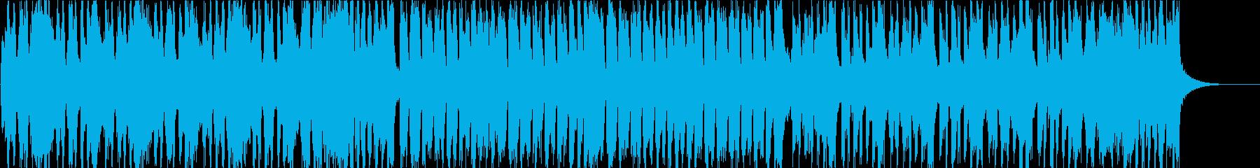 バイオリンで明るく軽快なマーチ風BGMの再生済みの波形