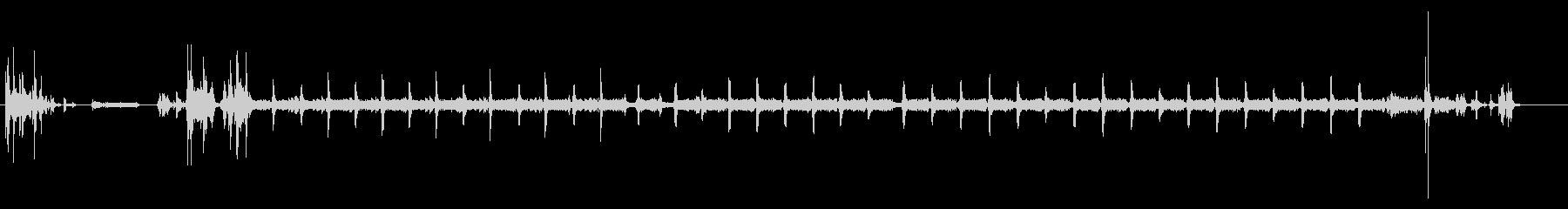 プリンター02-03(印刷 カラー)の未再生の波形