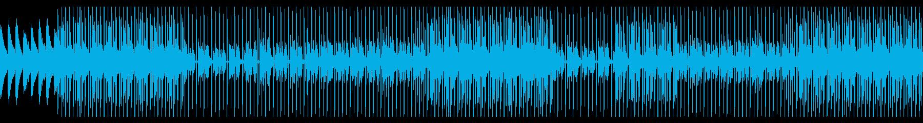 シティポップ風のオシャレなBGMの再生済みの波形