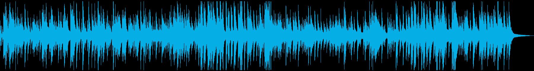 幻想的でスムースなゆったりジャズバラードの再生済みの波形