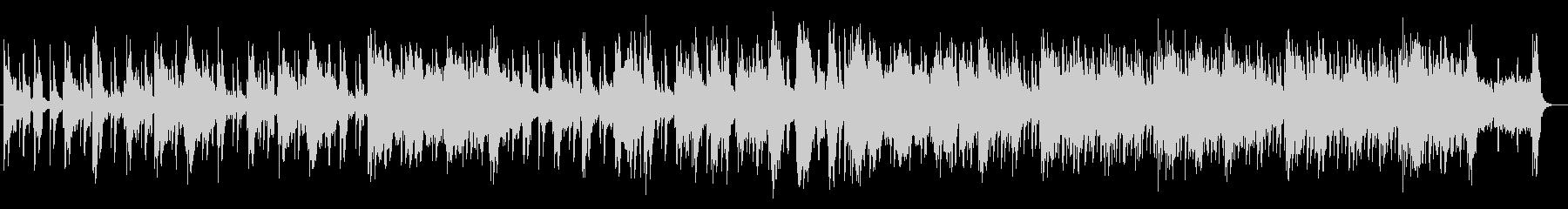 美しく奇麗なシンセサイザーサウンドの未再生の波形
