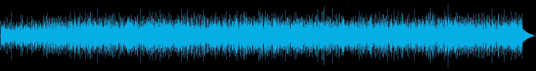 こころ踊るマンドリンカントリーBGMの再生済みの波形