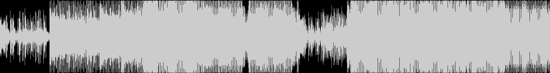 EDM リアル 明るい ピアノ ループの未再生の波形