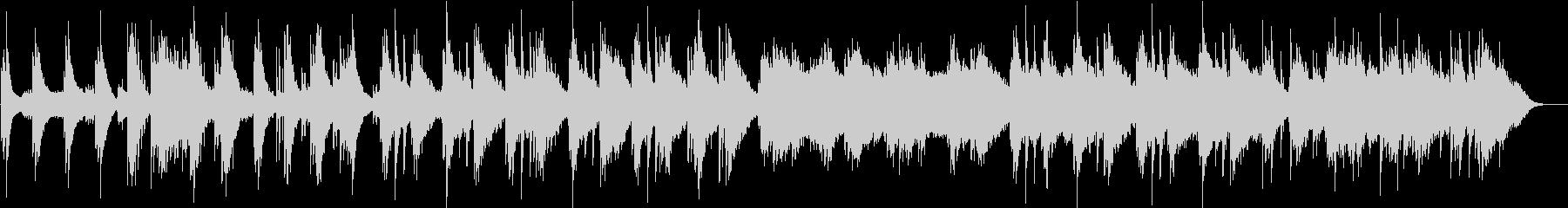 ピアノが静かに響くアンビエントの未再生の波形