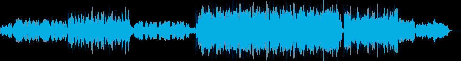 笛の音響くファンタジックで朗らかな民族調の再生済みの波形