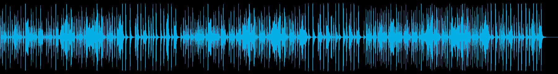 YouTube ハーモニカ・ピチカートの再生済みの波形