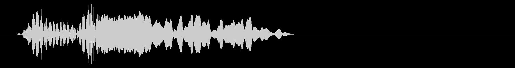 ショートカットローカットトランジション2の未再生の波形