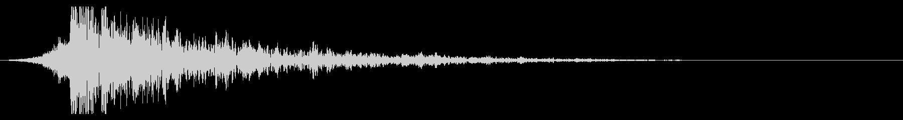 シュードーン-59-2(インパクト音)の未再生の波形