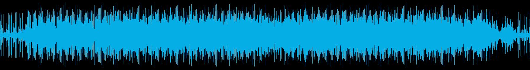 レイドバックしたループBGM、夏の再生済みの波形