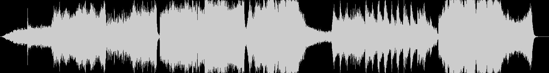 スリリングなサスペンス系の未再生の波形