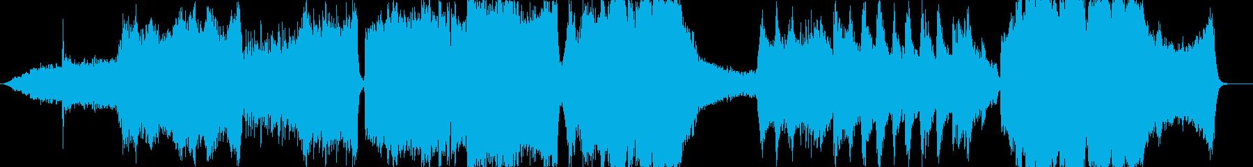 スリリングなサスペンス系の再生済みの波形