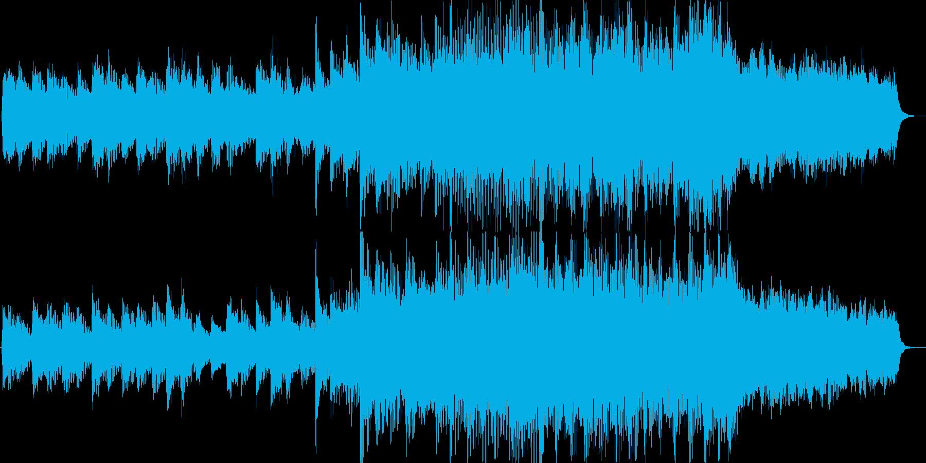 ピアノオーケストラ入場15秒曲の再生済みの波形