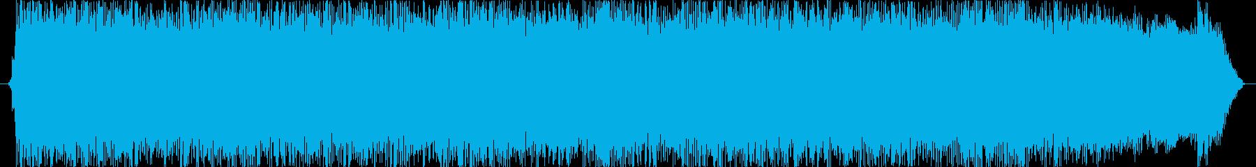 迫力ある力強いロック15秒。の再生済みの波形